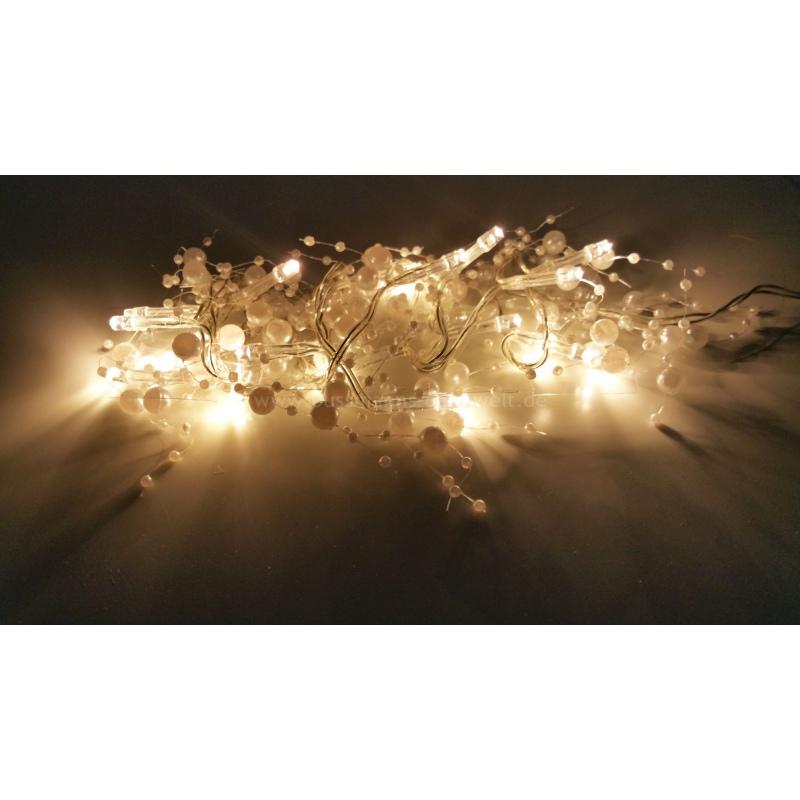 led lichterkette perlen 20 leds warmwei innen 9 95. Black Bedroom Furniture Sets. Home Design Ideas